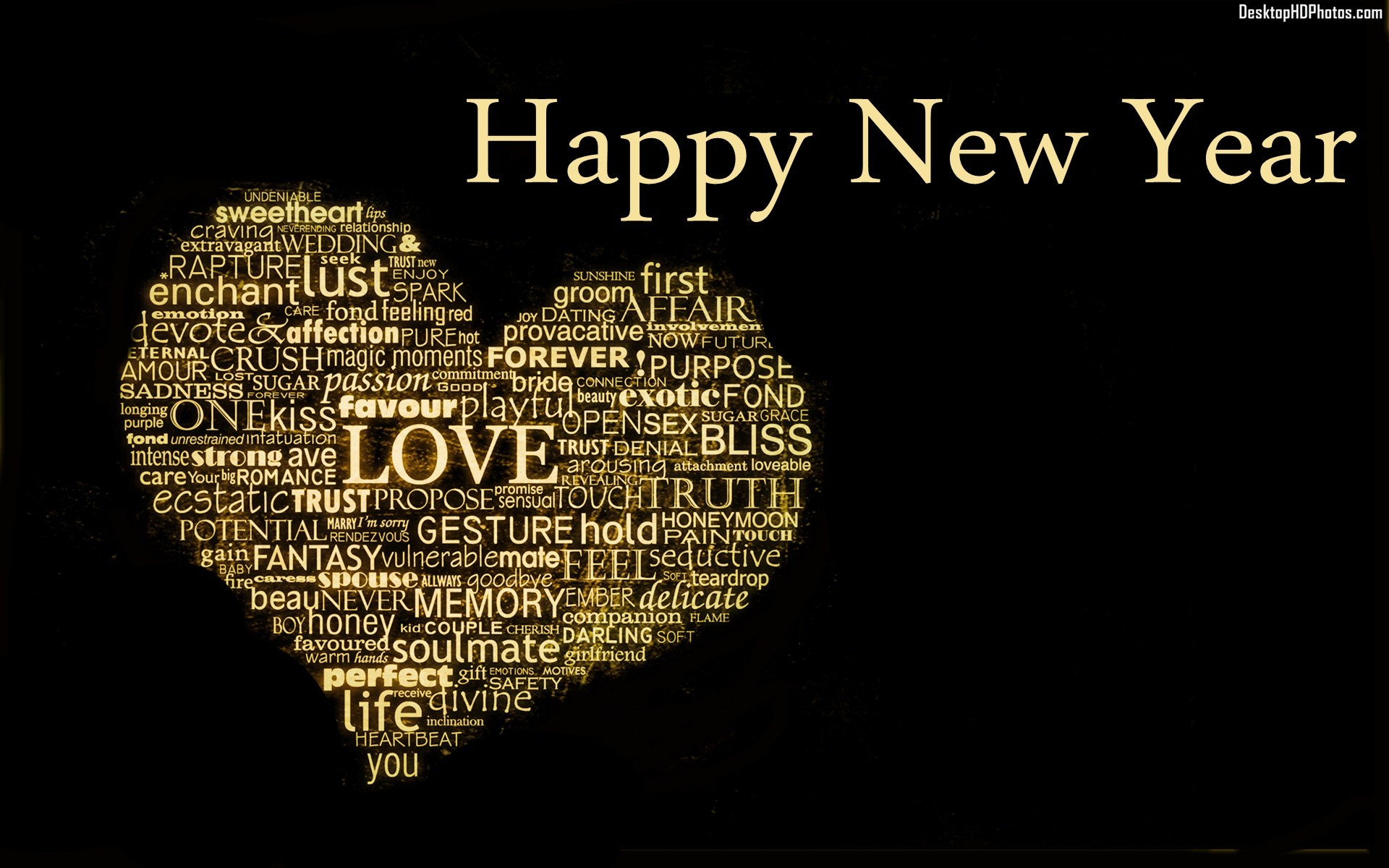 New Year Love Hd Wallpaper : New year 2016 HD wallpaper collections - HD wallpaper collections